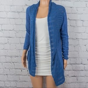 Skies Are Blue open front cardigan